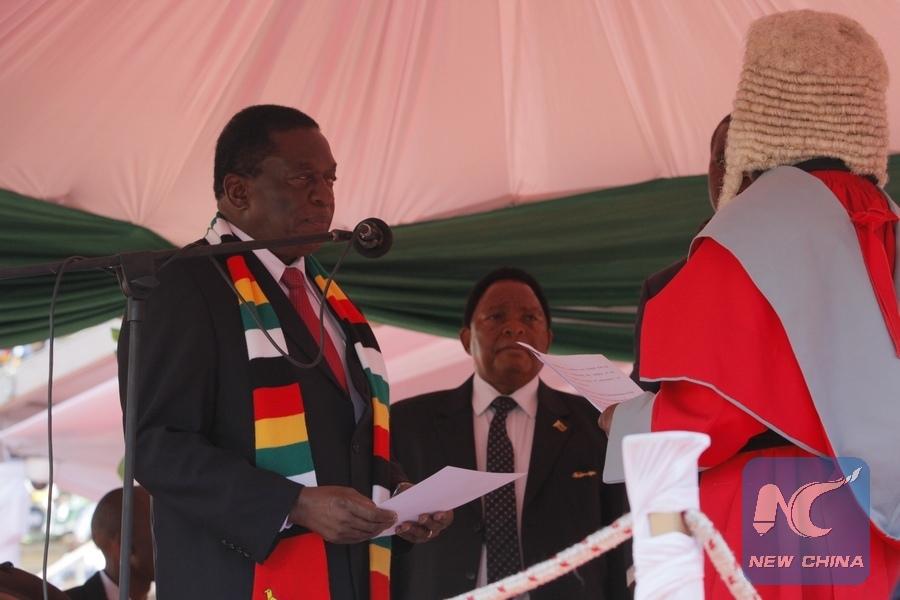 Zimbabwe cabinet ministers sworn in - Xinhua | English news cn