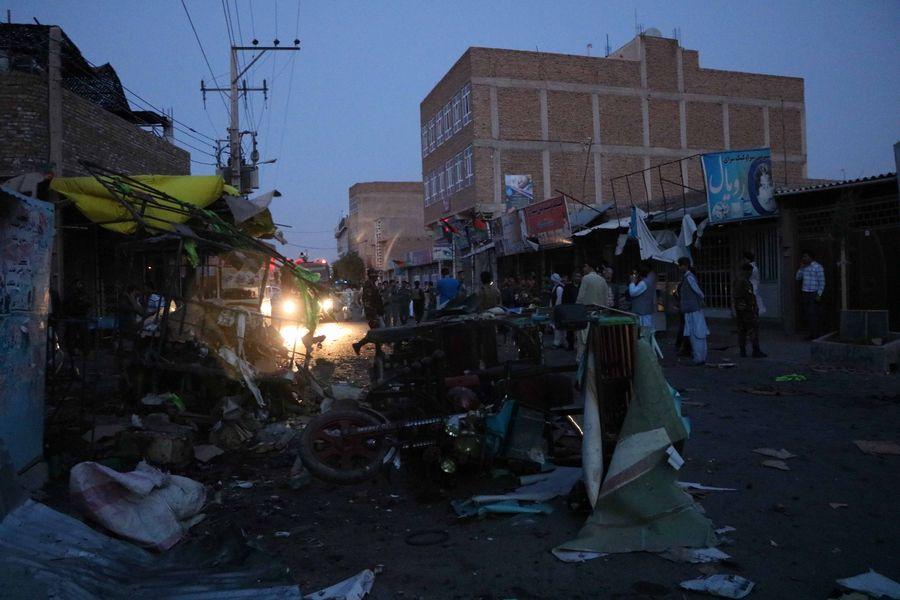 Dozens feared dead as explosion rocks wedding hall in Kabul - Xinhua | English.news.cn