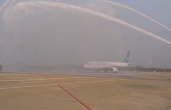 First passenger flight lands in Wuhan after 76 days